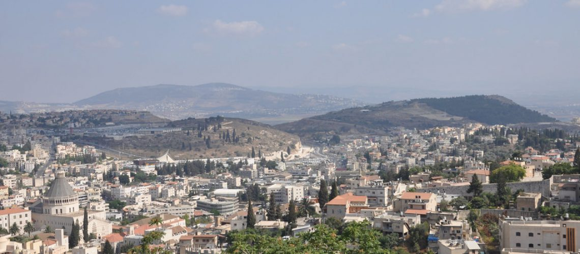 Nazareth from a 394 step height