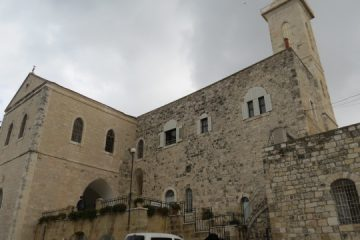 The Church of St. John the Baptist, Ein Kerem, Jerusalem